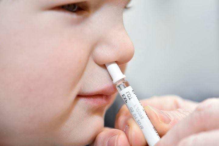szczepienie donosowe