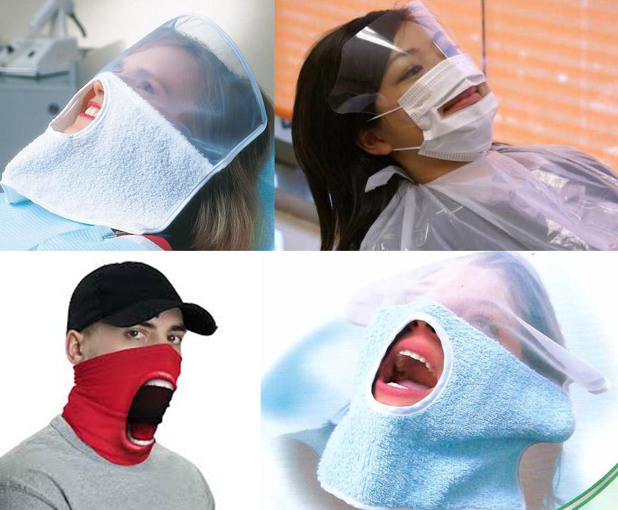 maseczki u dentysty
